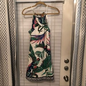 Tropical dress worn once